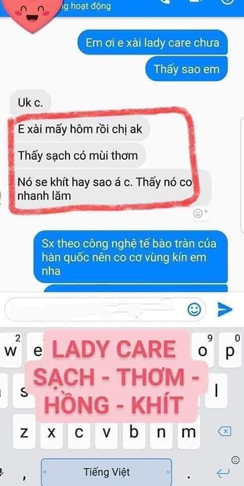 review dung dich ve sinh ladycare linh huong 9